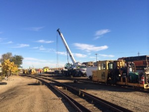 railroad lifting crane services