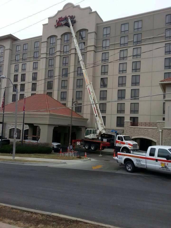 Kc Sign Repair Cei Kansas City Commercial Contractors