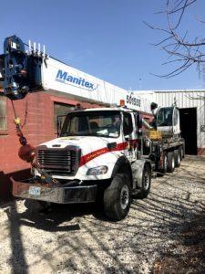 KC Crane's 50 ton Crane | Crane Rental