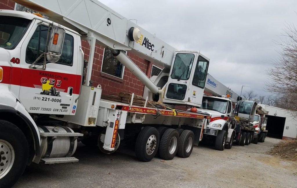 Crane Rental Service | KC Crane's Crane Rental Service Fleet | Crane Rental Company
