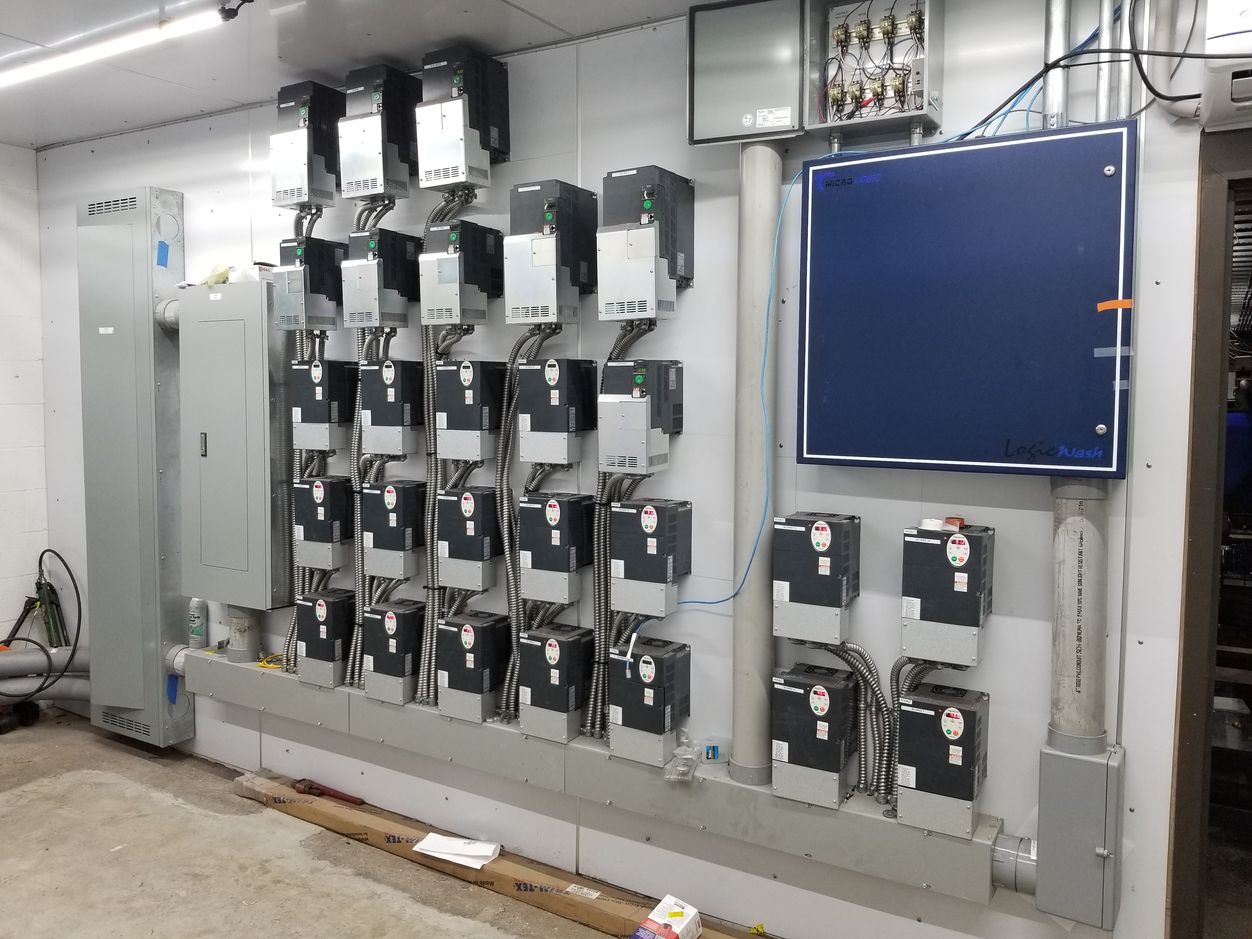 Car Wash Electrical Install Kansas City Commercial
