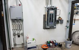 Electrical Breaker Panel Install